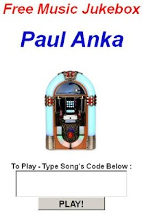 Paul Anka Jukebox - screenshot thumbnail