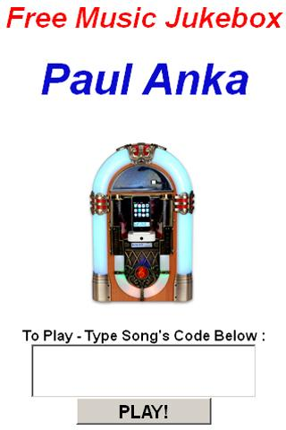 Paul Anka Jukebox - screenshot