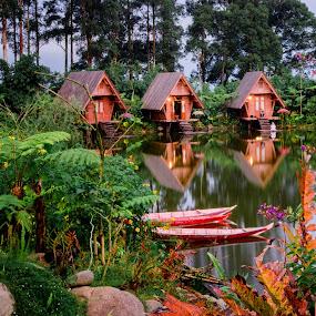 Bandung Beuga by Max Bowen - Landscapes Waterscapes