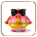 Pretty Pig Watch widget logo
