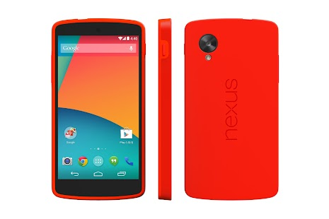 Nexus 5 Bumper Case (Bright Red) - screenshot thumbnail