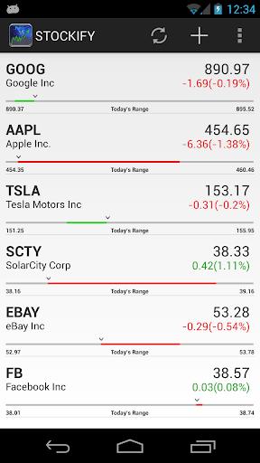 Stockify Stocks