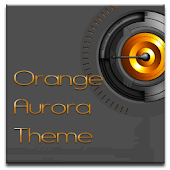 ADW Theme OrangeAurora