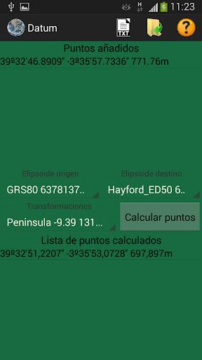 Geodesia - Cambio de Datum