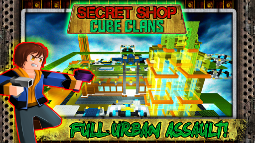 Secret Shop Cube Clans