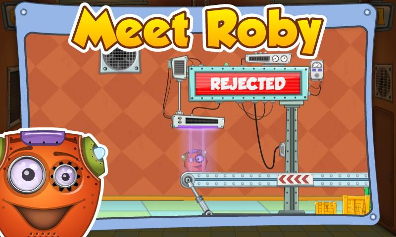 Rescue Roby HD- screenshot