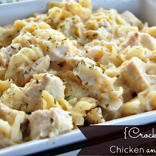 {Crock Pot} Chicken and Noodles