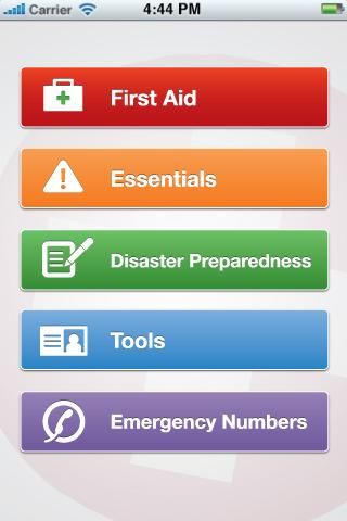 GotoAID First Aid Lite- screenshot