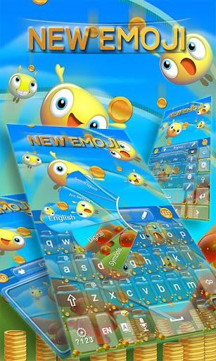New Emoji GO Keyboard theme