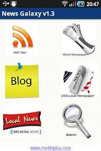 News Galaxy- screenshot thumbnail