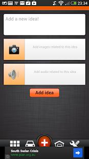 Idea Valet Lite screenshot