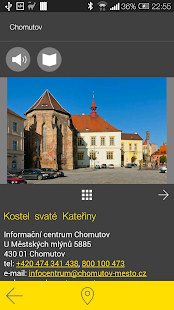 Chomutov - audio tour- screenshot thumbnail