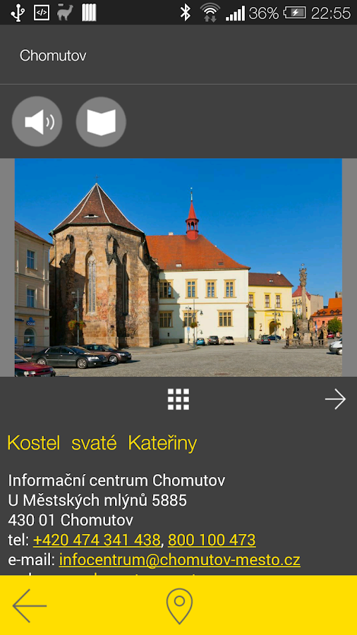 Chomutov - audio tour- screenshot