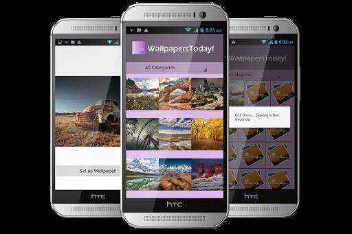 玩個人化App|Wallpapers Today HD免費|APP試玩