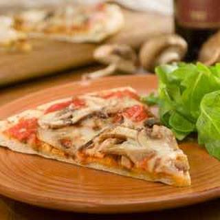 Wild Mushroom Pizza.