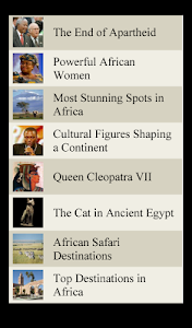 World Travel Lists - AFRICA screenshot 10