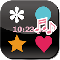 Polka Dots Flow! LWP Alarm! icon