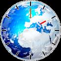 Beautiful Earth Clock Widget icon