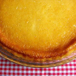 Yogurt Cheesecake with Orange