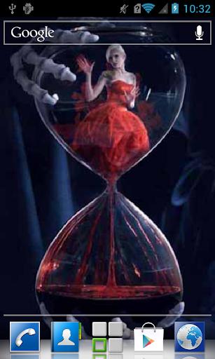Fancy hourglass LWP