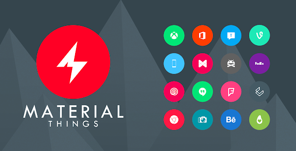Material Things Lollipop Theme - screenshot thumbnail