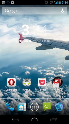 Galaxy S4 Sky Live Wallpaper