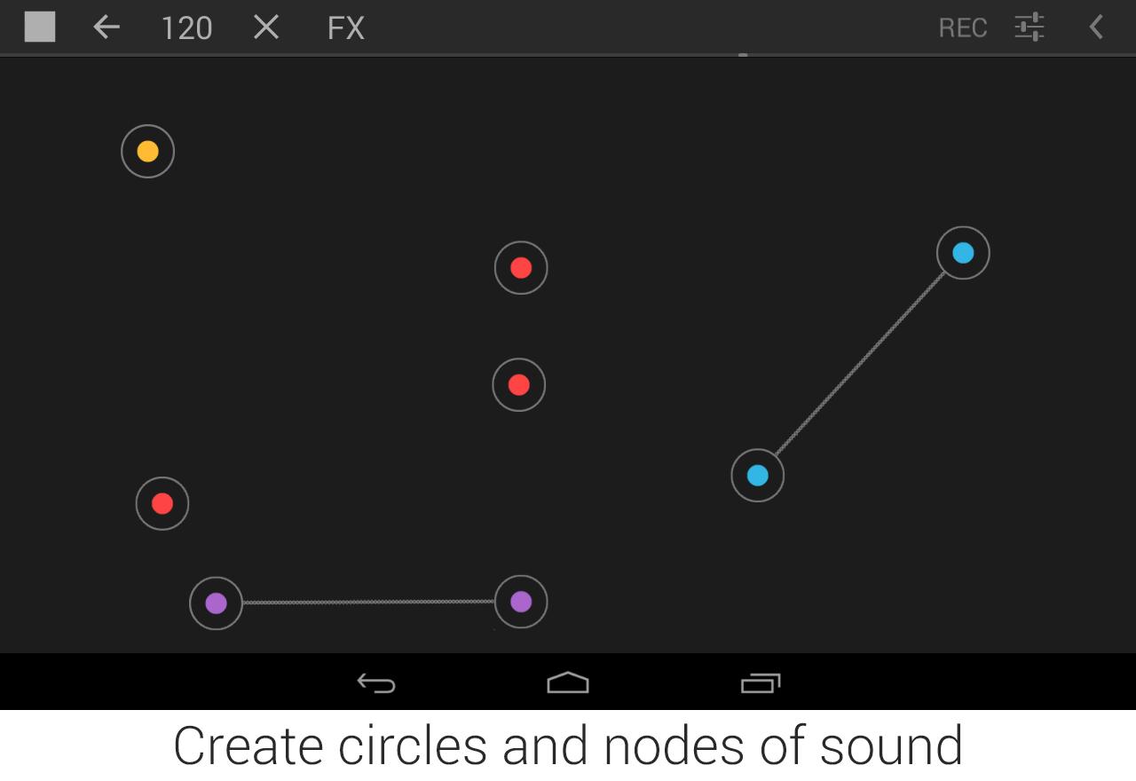 Circle Synth - screenshot
