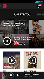 Beats Music- screenshot thumbnail