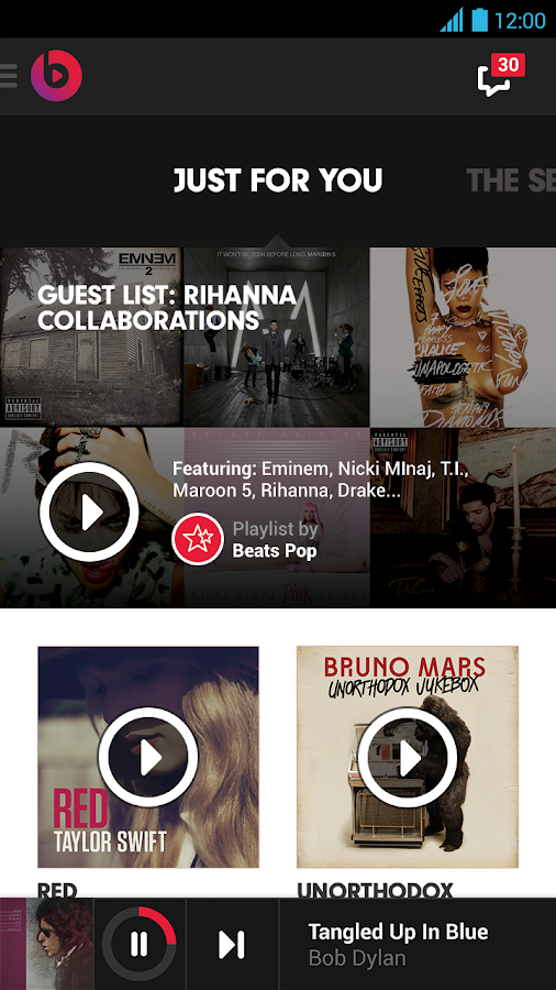 Beats Music - screenshot