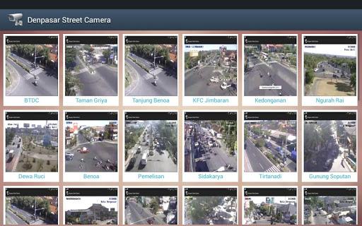 Denpasar Street CCTV
