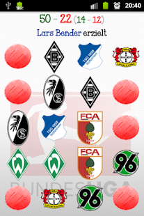 Bundesliga Memory Spiel - screenshot thumbnail