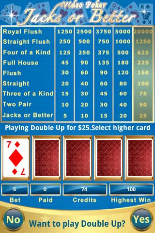 Prime Video Poker - screenshot