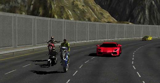 Race Stunt Fight 3!    ★FREE★ Screenshot 5