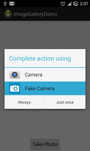 Fake Camera