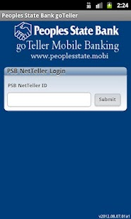 Peoples State Bank goTeller - screenshot thumbnail
