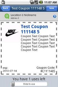Diamondbucks Mobile Coupons screenshot 1