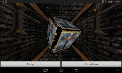 3D Holy Cross Live Wallpaper- screenshot thumbnail