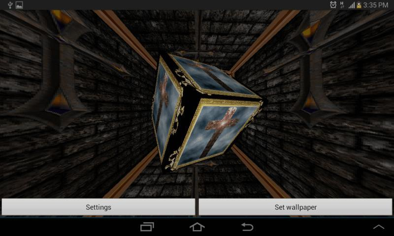 3D Holy Cross Live Wallpaper - screenshot