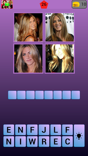 4 Pics 1 Celeb: Find the Word