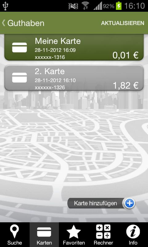 Ticket Plus Card von Edenred - screenshot