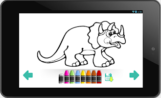 Coloring Book Dinosaurs APK