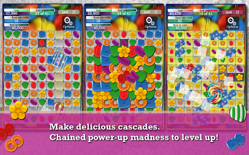 Candy Game -Match three puzzle - screenshot thumbnail