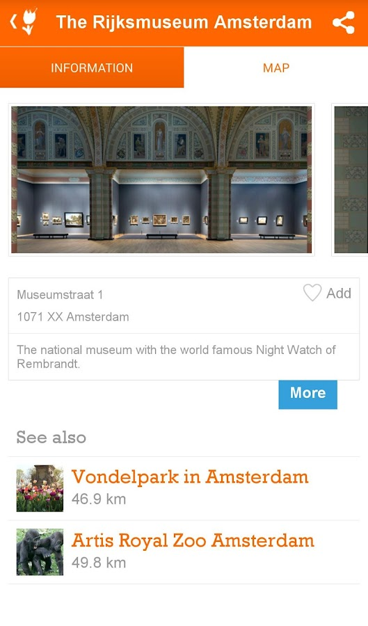 Visit Holland- screenshot