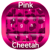 Pink Cheetah Keyboard