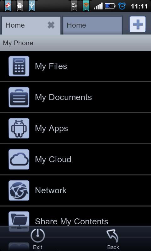 File Expert Black Theme Plugin - screenshot