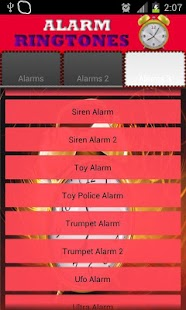 Ringtones Alarm Clock - screenshot thumbnail