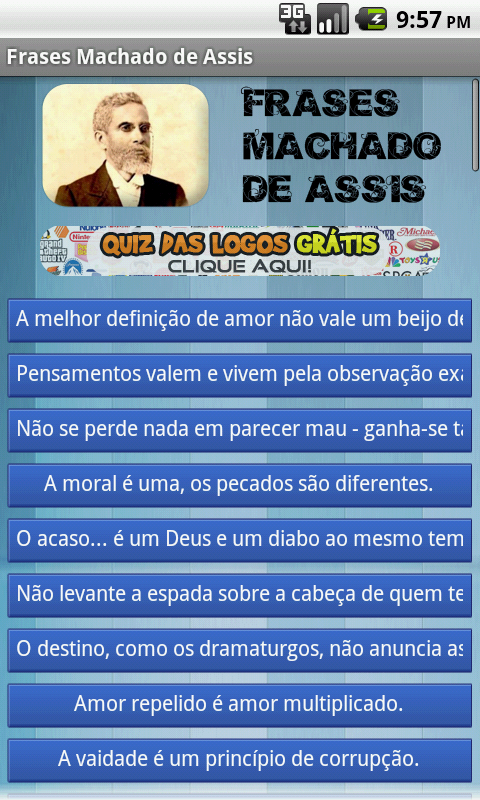 Download The Frases Machado De Assis Android Apps On Nonesearchcom