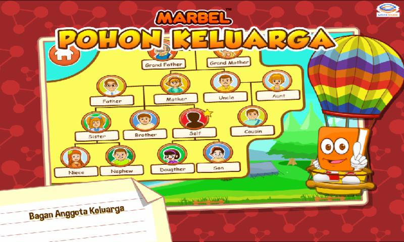 Marbel Belajar Pohon Keluarga - Android Apps on Google Play