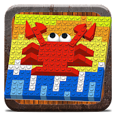 Mosaic with Bricks
