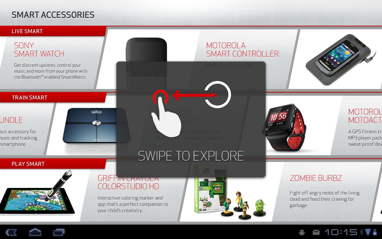 Cm Demo Accessories App Android Apps On Google Play